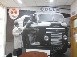 Office Odlums Vinyl Wall Print