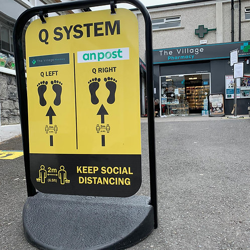 Social Distancing Q Management
