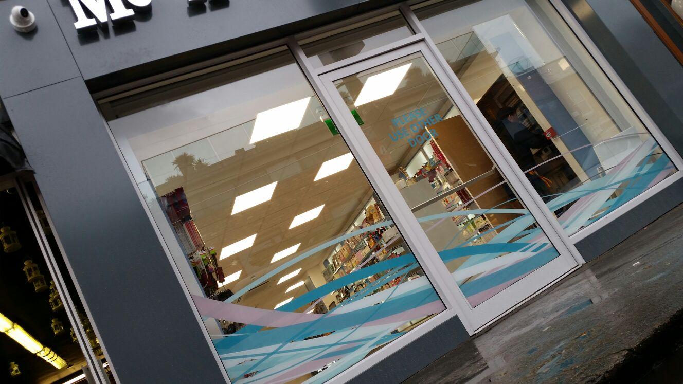 Window Graphics McAuliffs Sandymount
