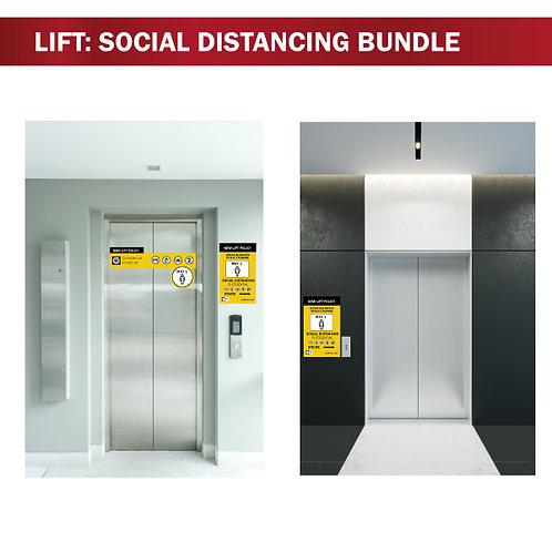 Social Distancing - Lift Bundle - 3 Piece