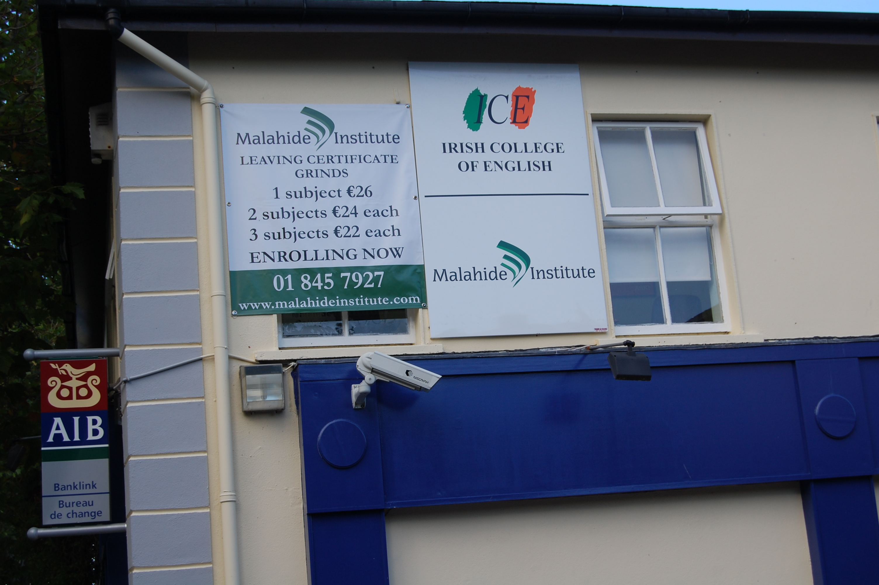 Metal signage - Banner & Box Panel Sign
