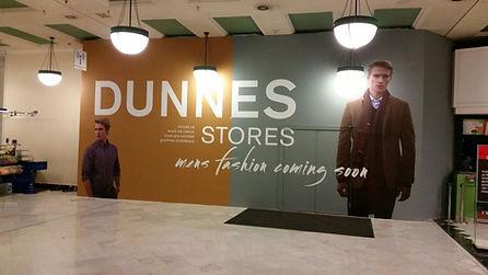 Dunnes Stores Hoarding panel