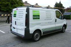 Vehicle Graphics_Simple Decal Logo & Bullet Points 2 Colours