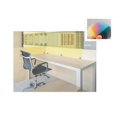 Social Distancing Desk Screens - Solid Colours -1000mm x 900mm