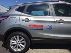 Windsor Motors Fleet Graphics