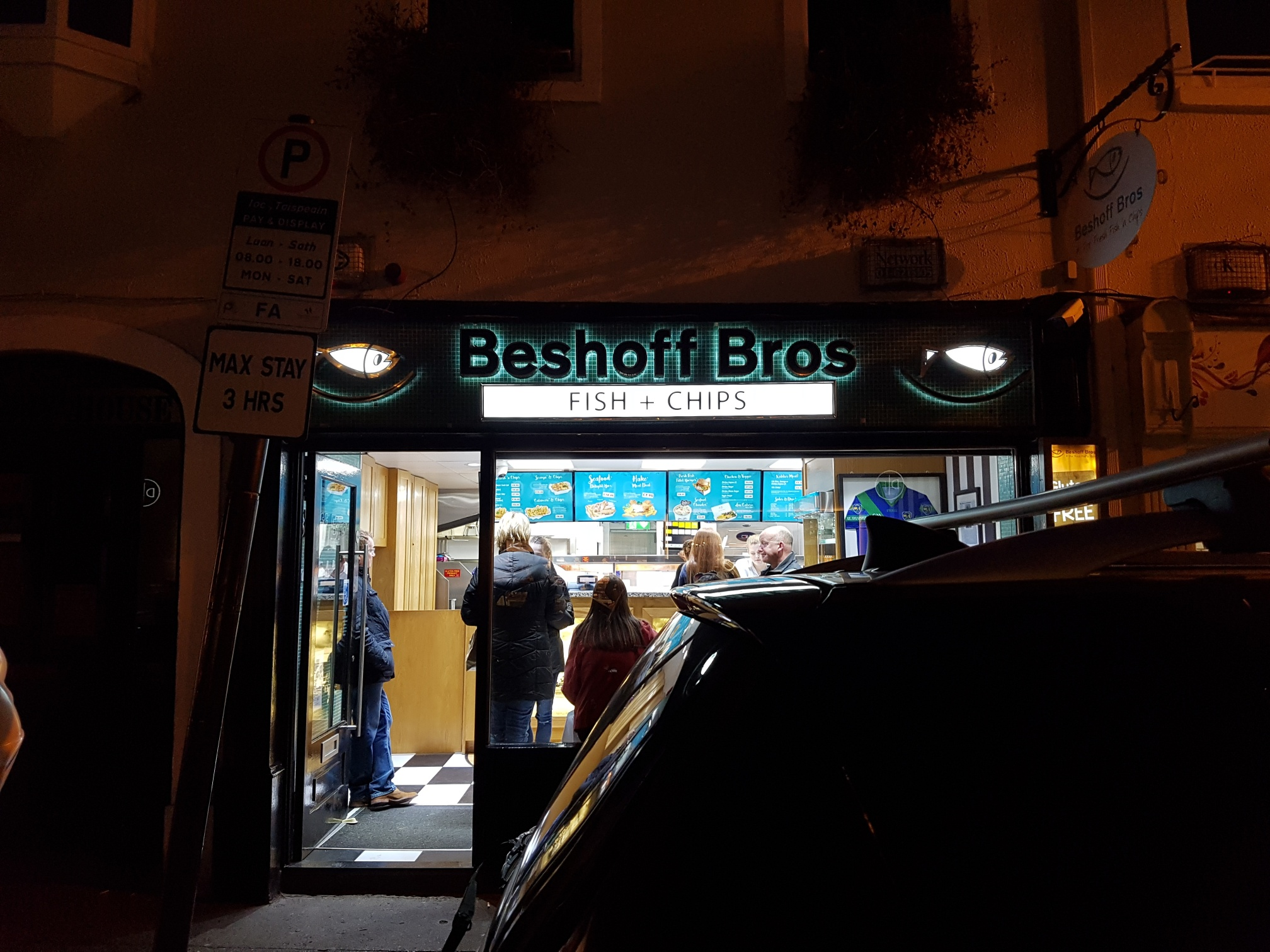 3D Illuminated Shop Front Signage, Beshofs