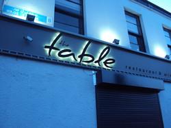 Table Restaurant Illuminated Foam PV