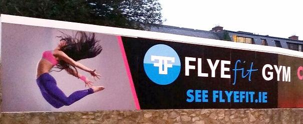 Flye Fit Hoarding panel