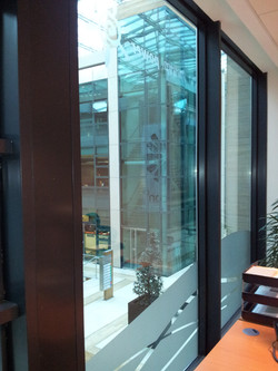 Interior designed Frosted Window