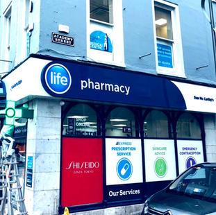 Pharmacy Shop Front Signage