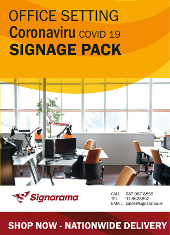 Covid19 Signage for Office - Everything You need - Download Brochure Now