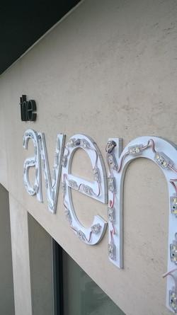 The Avenue 3d Illuminated Lettering