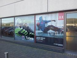 Full colour shop front window