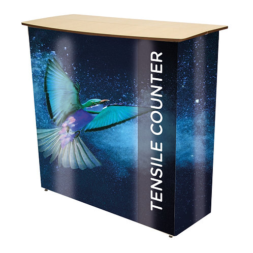Tensile Fabric Pop-Up Counter