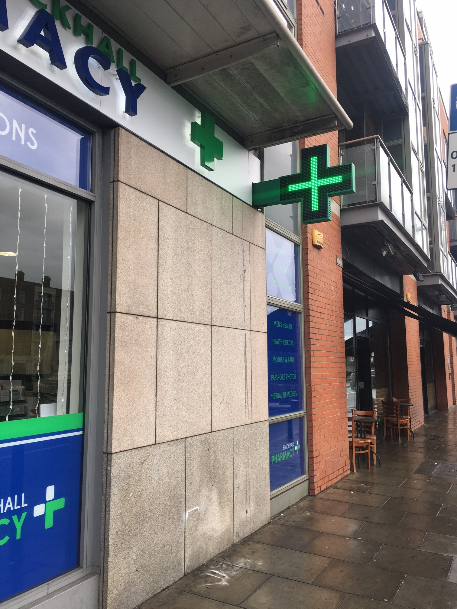 Pharmacy LED Cross Signage_Pharmacy Cros