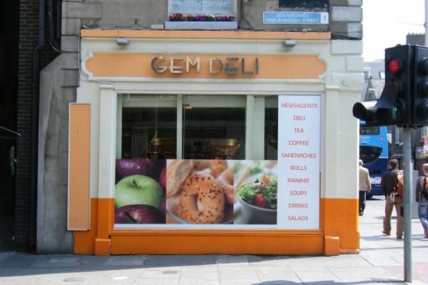 Shop Front Signage 3D Letters