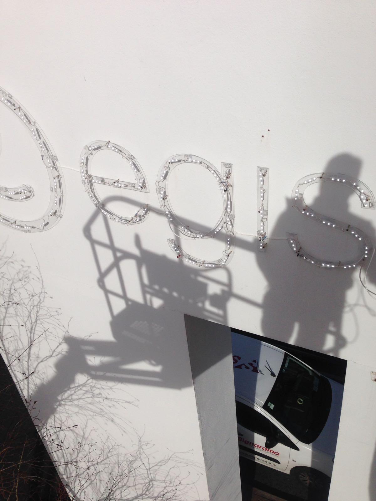 EGIS 3d Illuminated Lettering