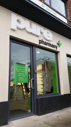 lin 3dPure Pharmacy Dub Lettering