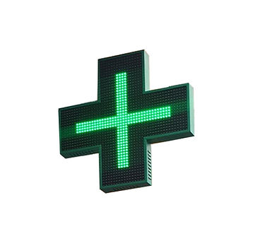 Pharmacy LED Cross Signage_Pharmacy Cros