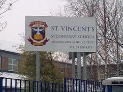 School Metal Signs - External