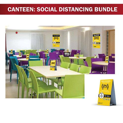 Social Distancing - Canteen Bundle - 16 Piece Set