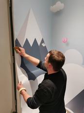 Application Wall Prints - Application De
