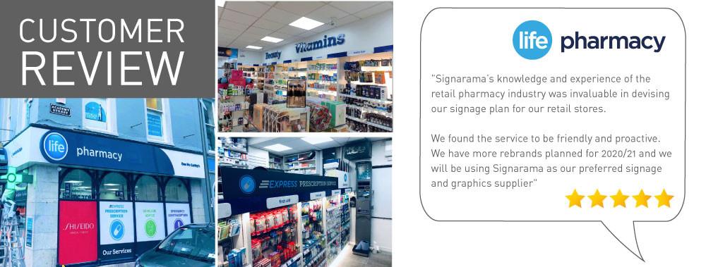 Life-Pharmacy-_Customer-Review_Signarama