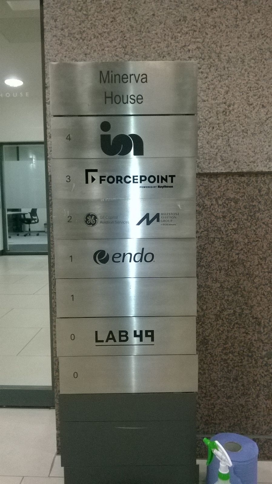 Monolith Indoor Directory Signage