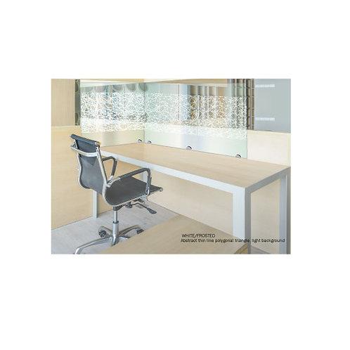 Social Distancing Desk Screens - Decorative Vinyl -1000mm x 900mm