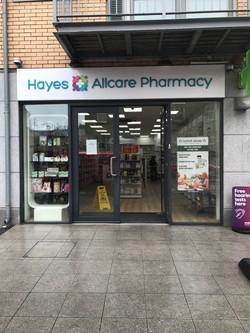 Shop Front Sign Aluminum _Allcare Pharmacy