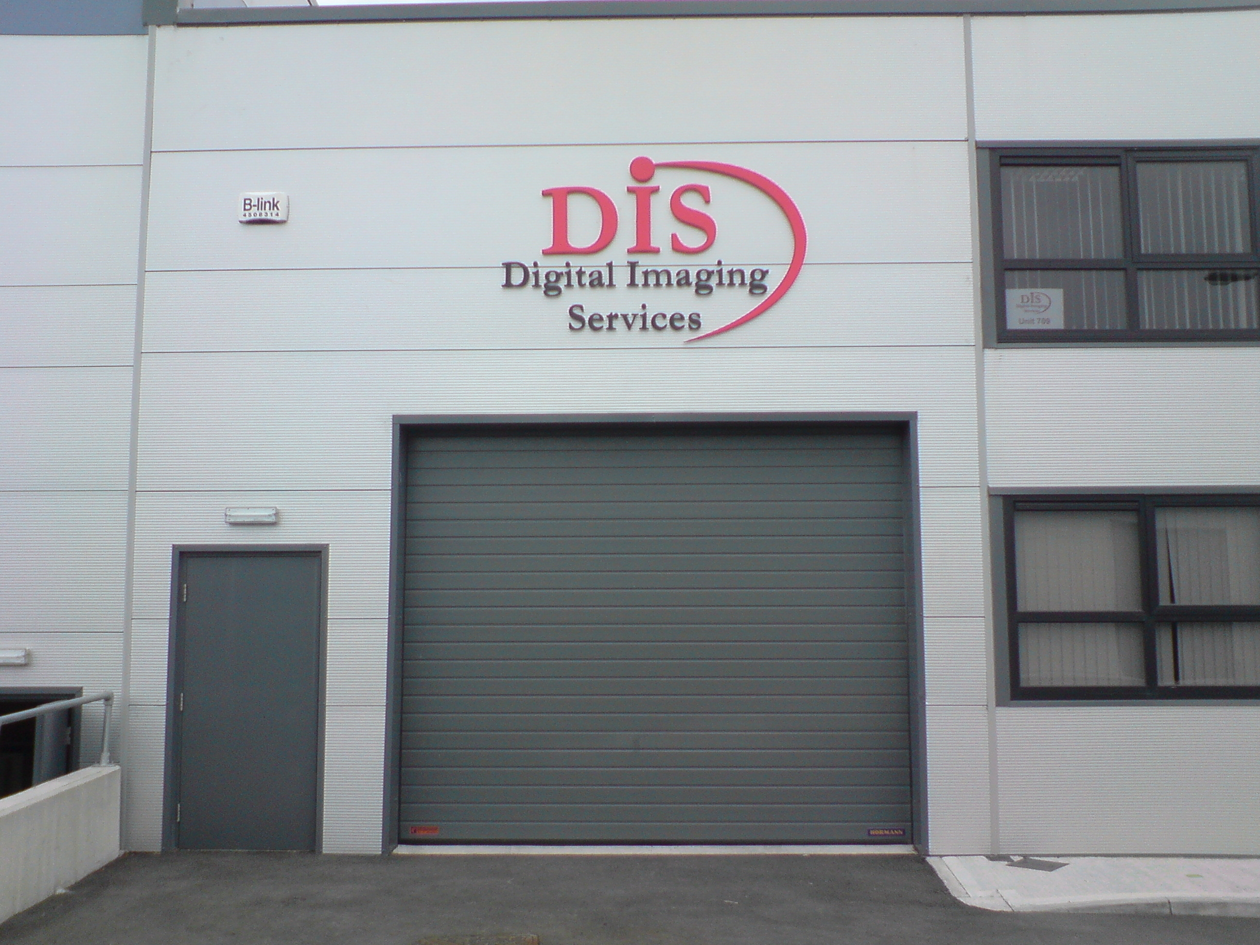 3d Industrial unit signs