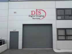 3d Industrial unit signs