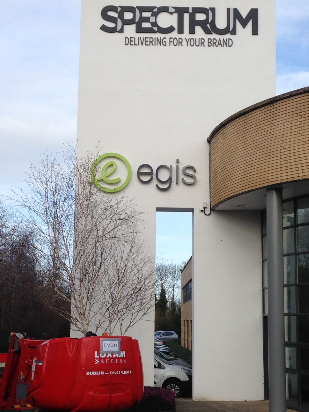 EGIS 3d Illuminated Letterin