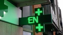 Pharmacy Sign Cross