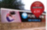 Corriboard hoarding panel