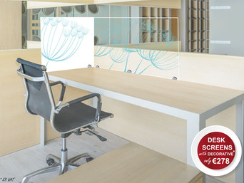 SNEEZE SCREENS ADD STYLE TO YOUR OFFICE