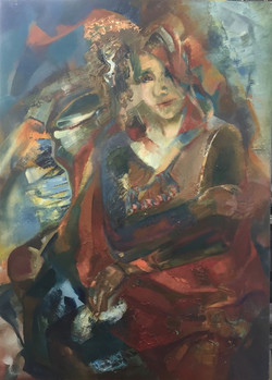 Girl by Anastasiia Kruglova