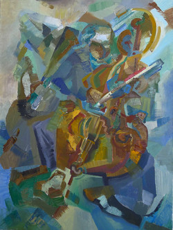 Music Rococo by Anastasiia Kruglova