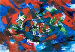 Anastasiia Kruglova Red Blue Fight