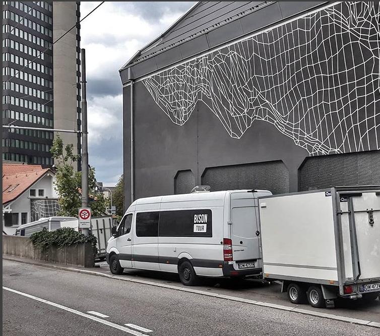 Bison in Zurich Dynamo