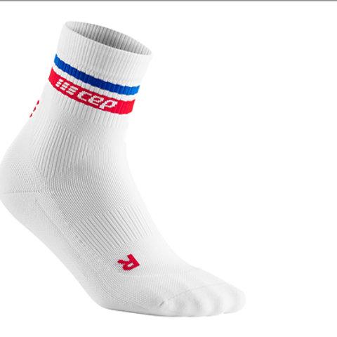 80s Compression Mid Cut Socks for Men