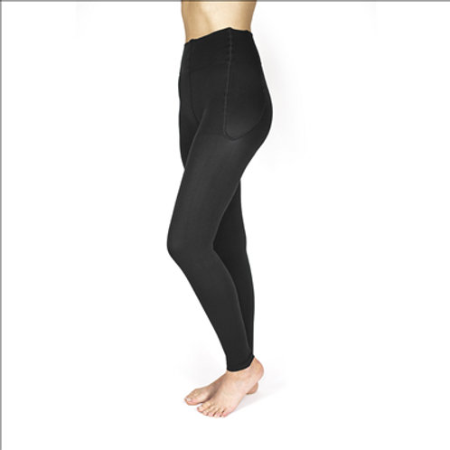Rejuva Footless Compression Leggings 15-20 mmHg