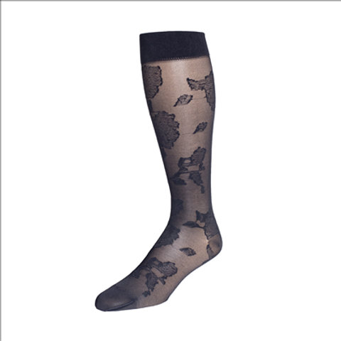 Rejuva Floral Compression Socks 15-20 mmHg