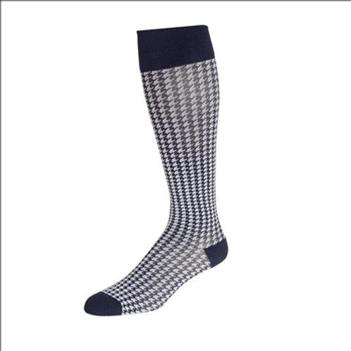 Rejuva Houndstooth Compression Sock 15-20 mmHg