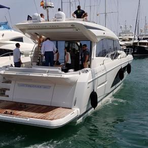 Prestige 590 Demo Ride at Palma de Mallorca