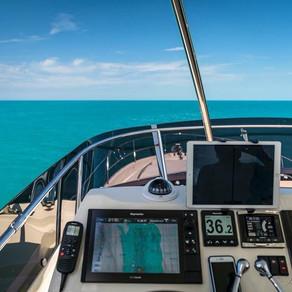 Cruising on a Prestige Yacht