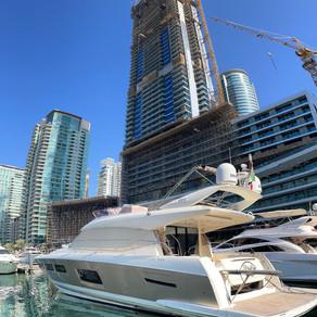 Prestige 550 Fly in Dubai Marina