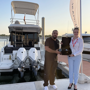 Trophy from Delma Marine