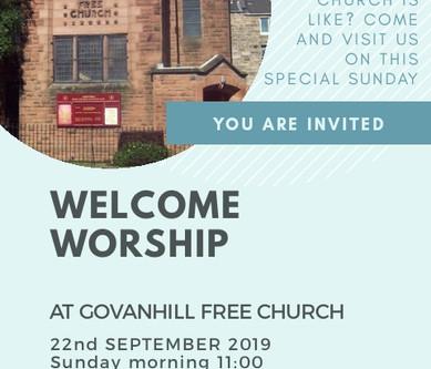 Welcome worship