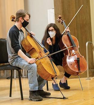 Cello Masterclass PC: Lori Deemer